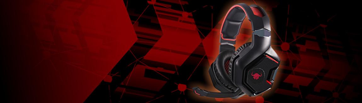 Bezdrátová herní sluchátka Red Fighter H4